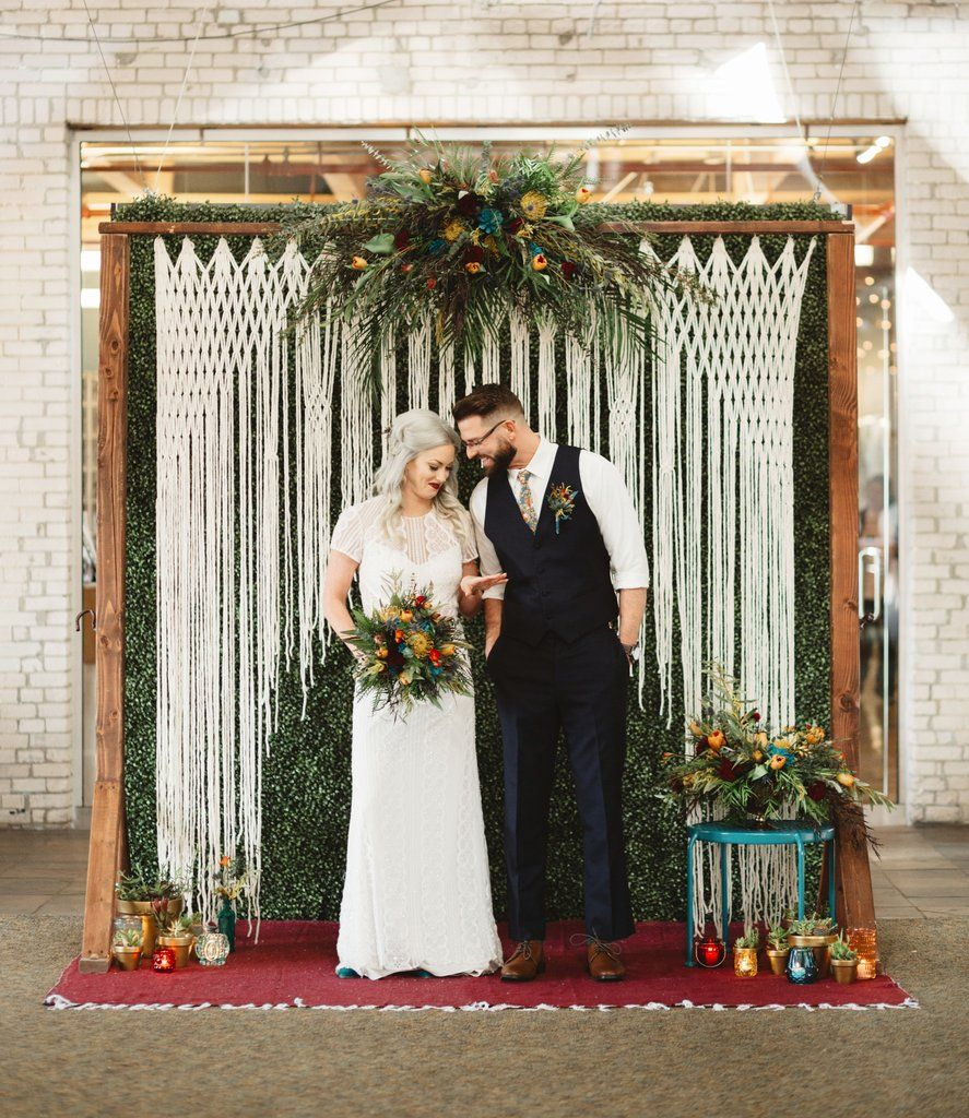 Wedding Altar Backdrops: True Love Forever Handmade Wedding Backdrop For Altar