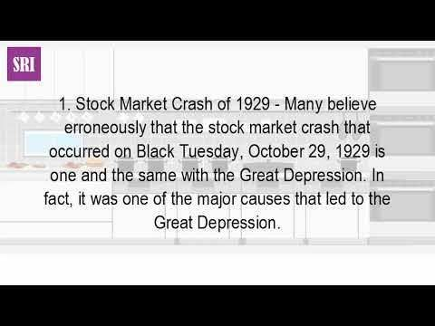 What Were Some Of The Causes Of The Great Depression? - WATCH VIDEO