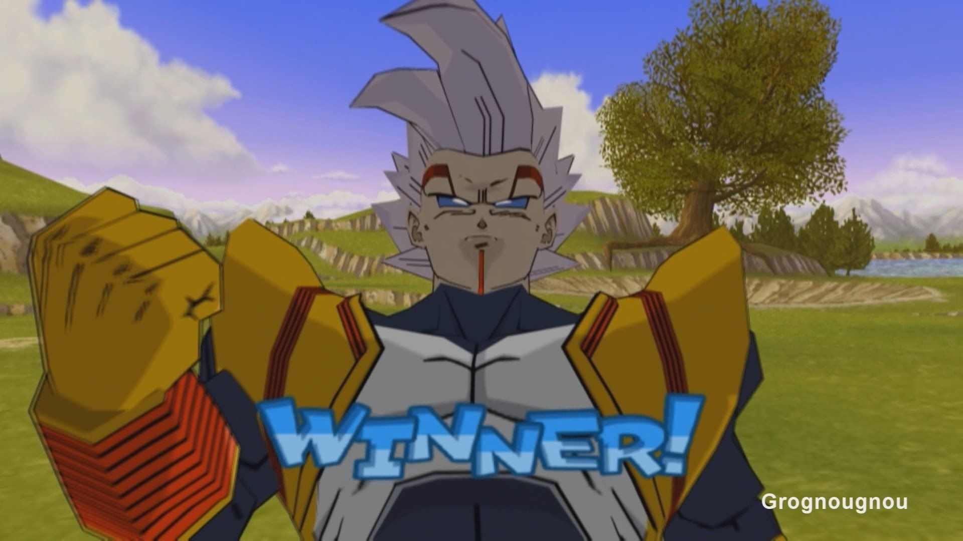 Vegeta Gt Get Possessed By Baby And Turns Into Super Baby 2 In The Game Dragon Ball Z Budokai 3 Mod Dragon Ball Z Future Trunks Dragon Ball