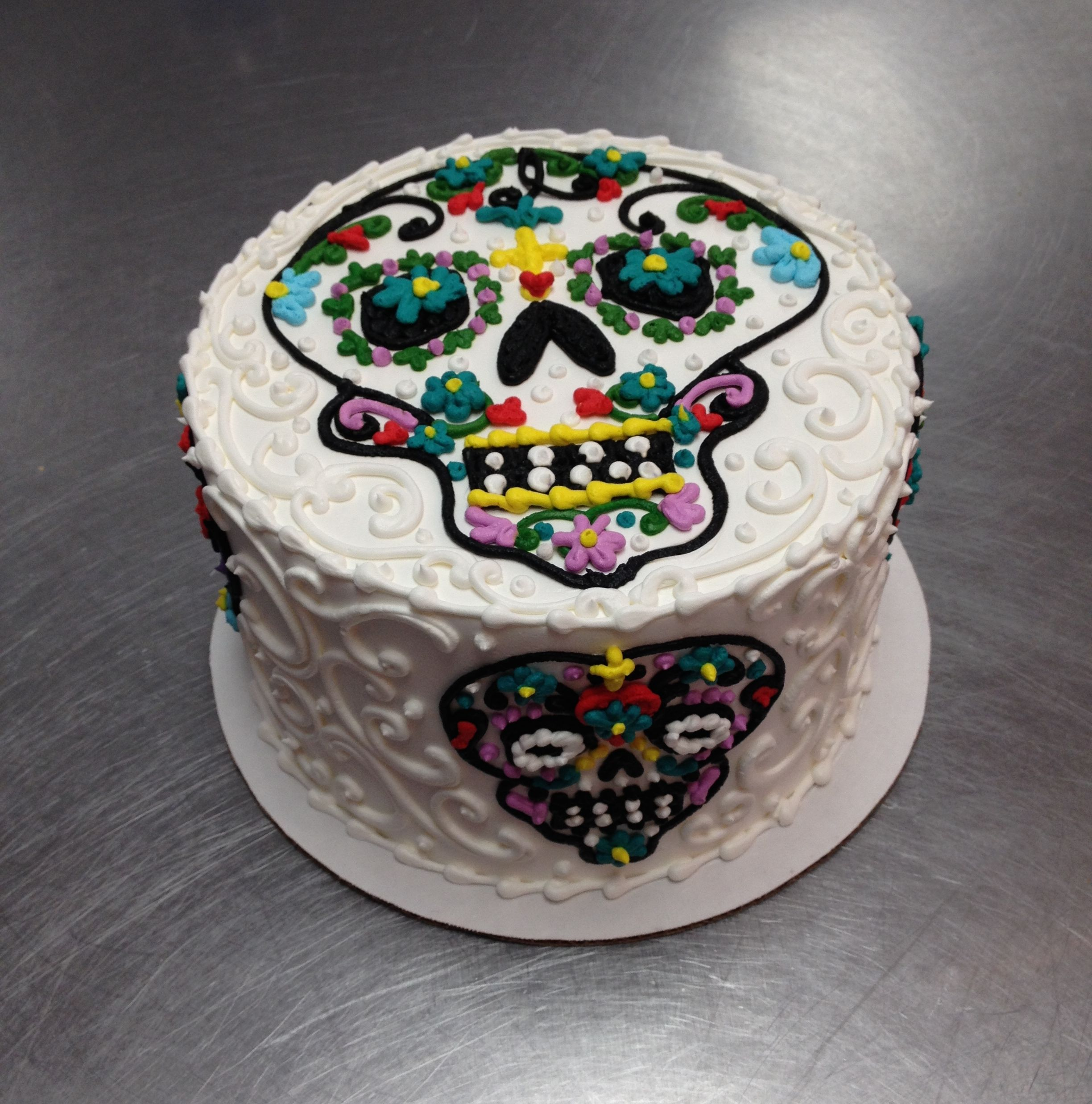 Dia De Los Muertos Birthday Cake Wild Flour Bakery Weekly