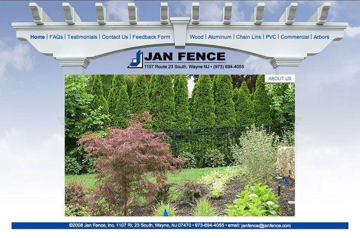 Web Design Nj Web Programming Firm Nj Website Design Company In New Jersey Fencing Professionals In Paramus Web Design Website Design Website Design Company