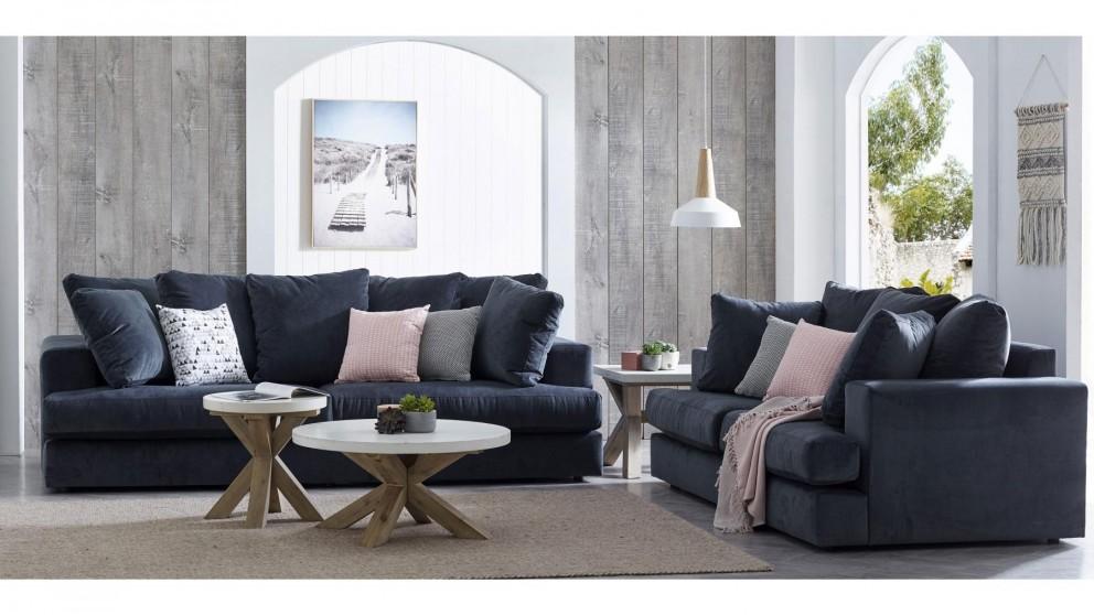 Buy Cavana 3 5 Seater Fabric Sofa Harvey Norman Au Fabric Sofa Dream Furniture Sofa