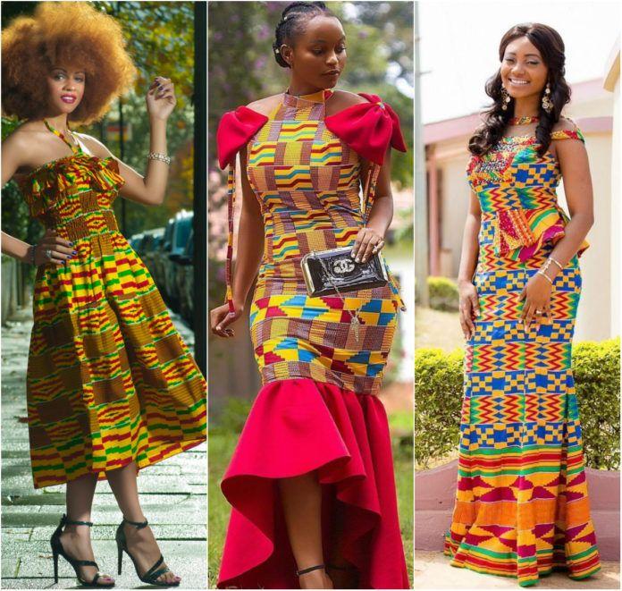 Ankara Styles 125 Kente Special: Beautiful Kente Styles Fashion Forward Woman