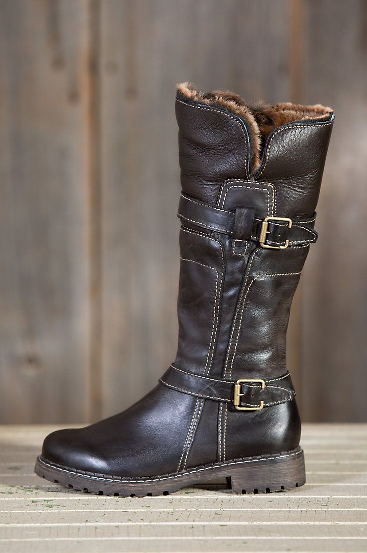 Women's Adelyn Tall Leather Boots with