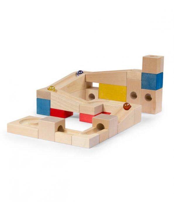 Marble Run Basic Set Wooden Blocks Toys Toys Wooden Marble Run