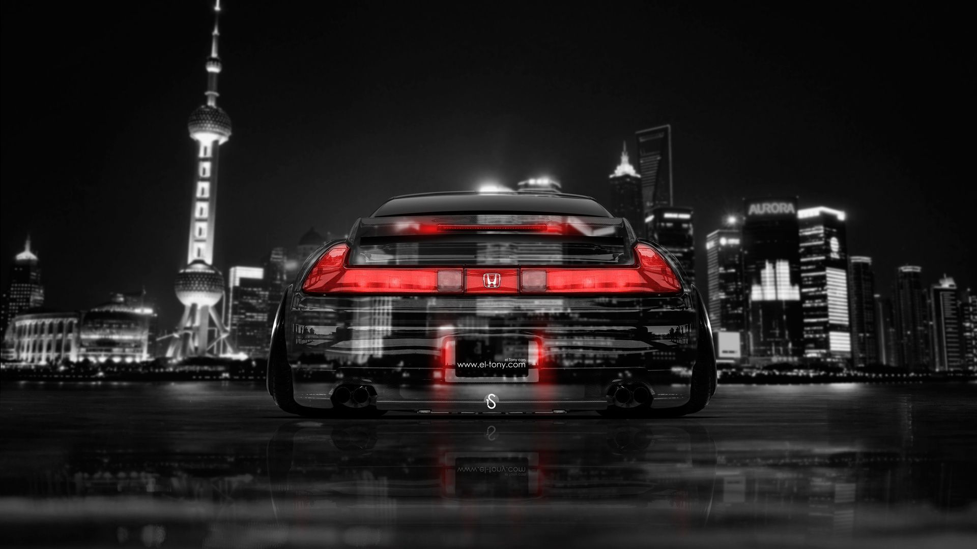 Honda NSX JDM Back Crystal City Car 2014 « El Tony