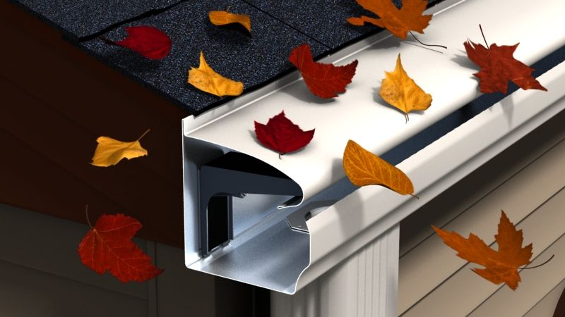 Leafguard System House Gutters Diy Gutter Leaf Guard Guards