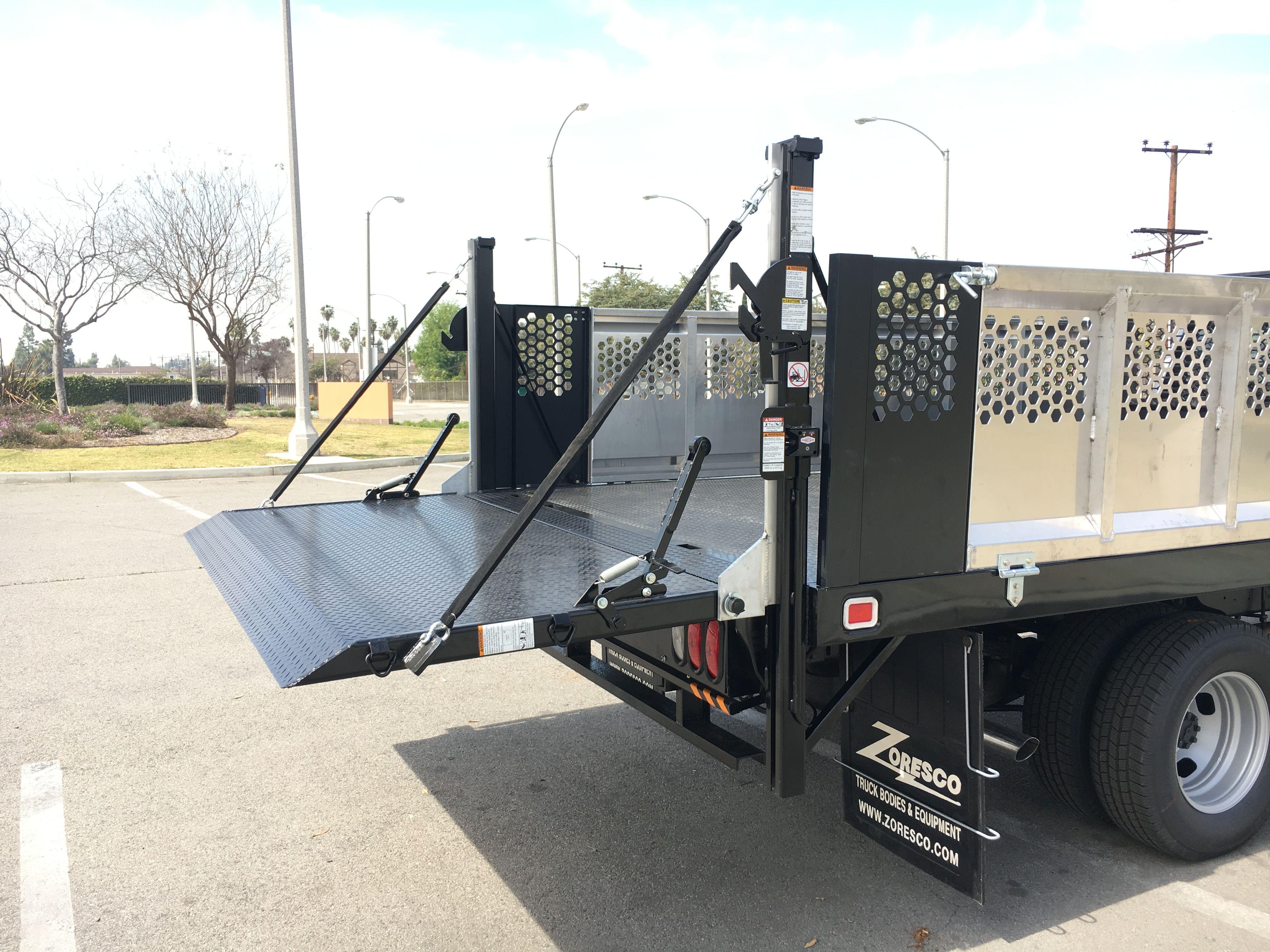Mac s Lift Gate Inc Tommy Gate Rail Lift Ford F350 Flatbed