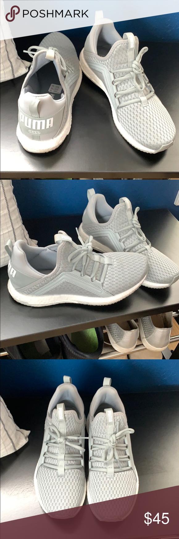100% echt komplettes Angebot an Artikeln riesige Auswahl an Puma soft foam sneakers Gray and white Pumas. I literally ...