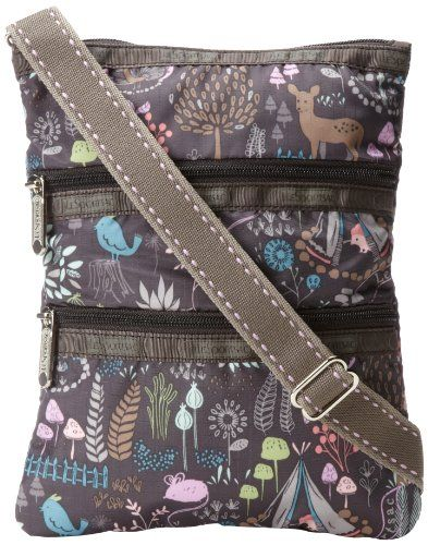 1587588a0 LeSportsac Kasey 7627 Cross Body Bag,Thistle,One Size LeSportsac http://