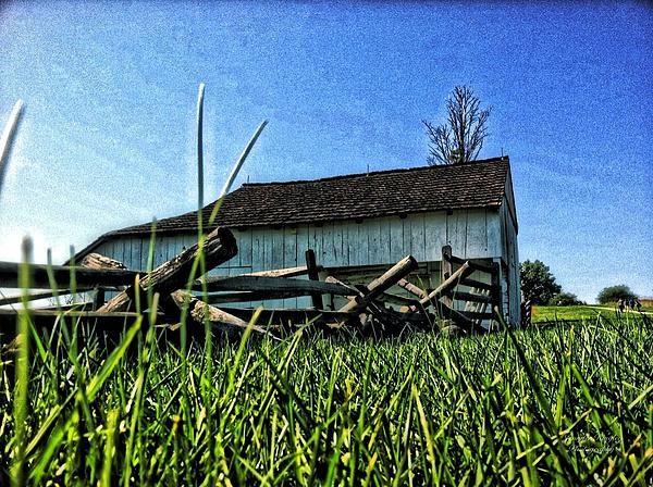 Gettysburg, farm, grass, landscape, civil war