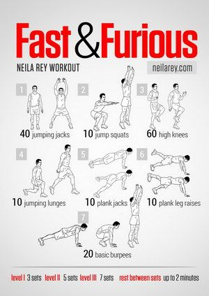fast and furious all cardio workout  neila rey workout