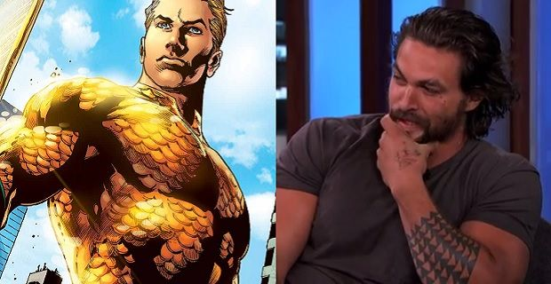 Batman V Superman Jason Momoa Acts Coy About Aquaman Rumors