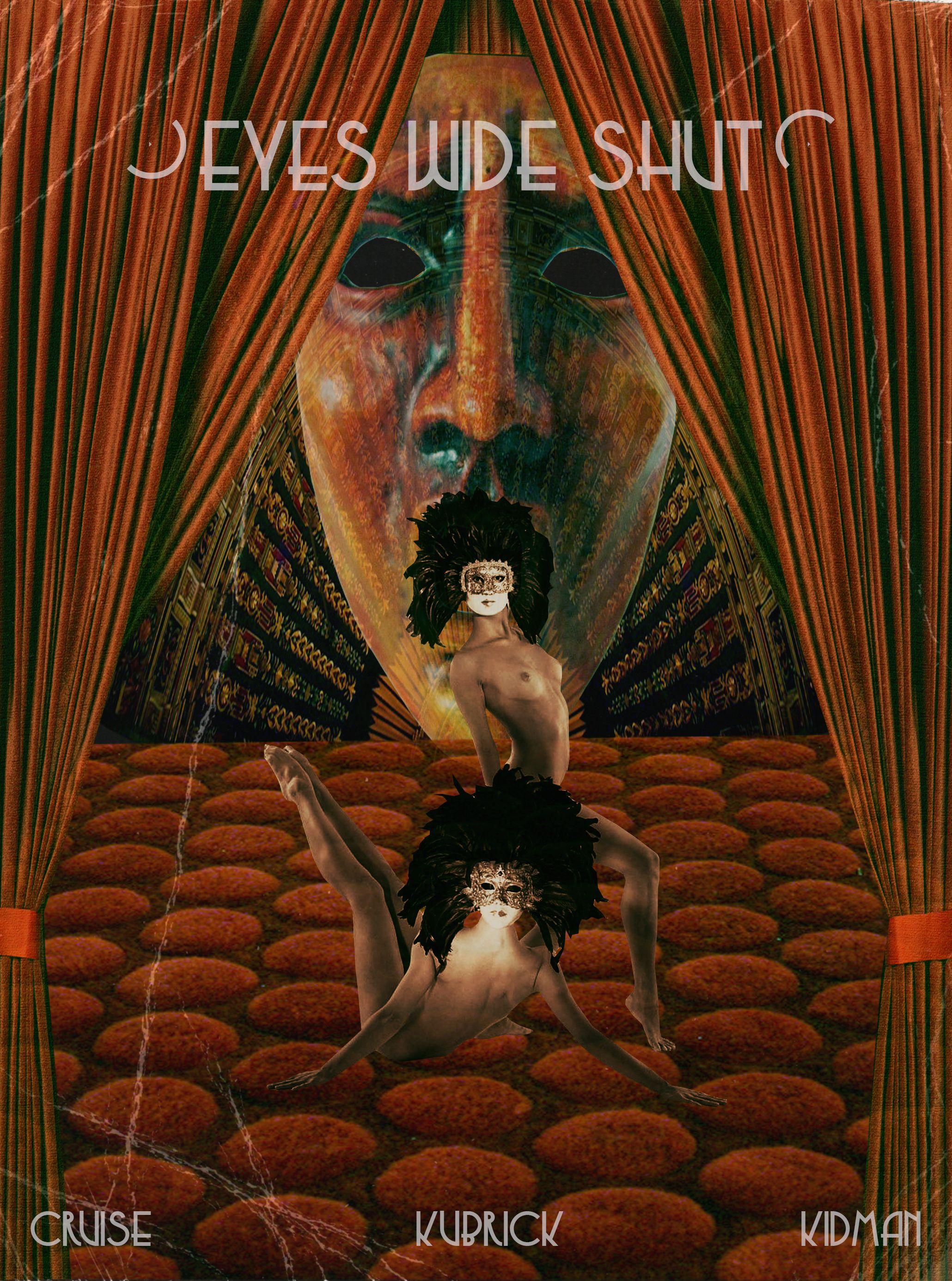 Eyes Wide Shut Alternate Movie Poster © Scarlet Phoebe, 2013 www.serpentfire.ca