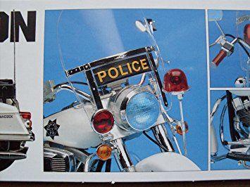 Harley Davidson Police Bike, Modell Bausatz 1:10, Academy Model Kits: Amazon.co.uk: Toys & Games