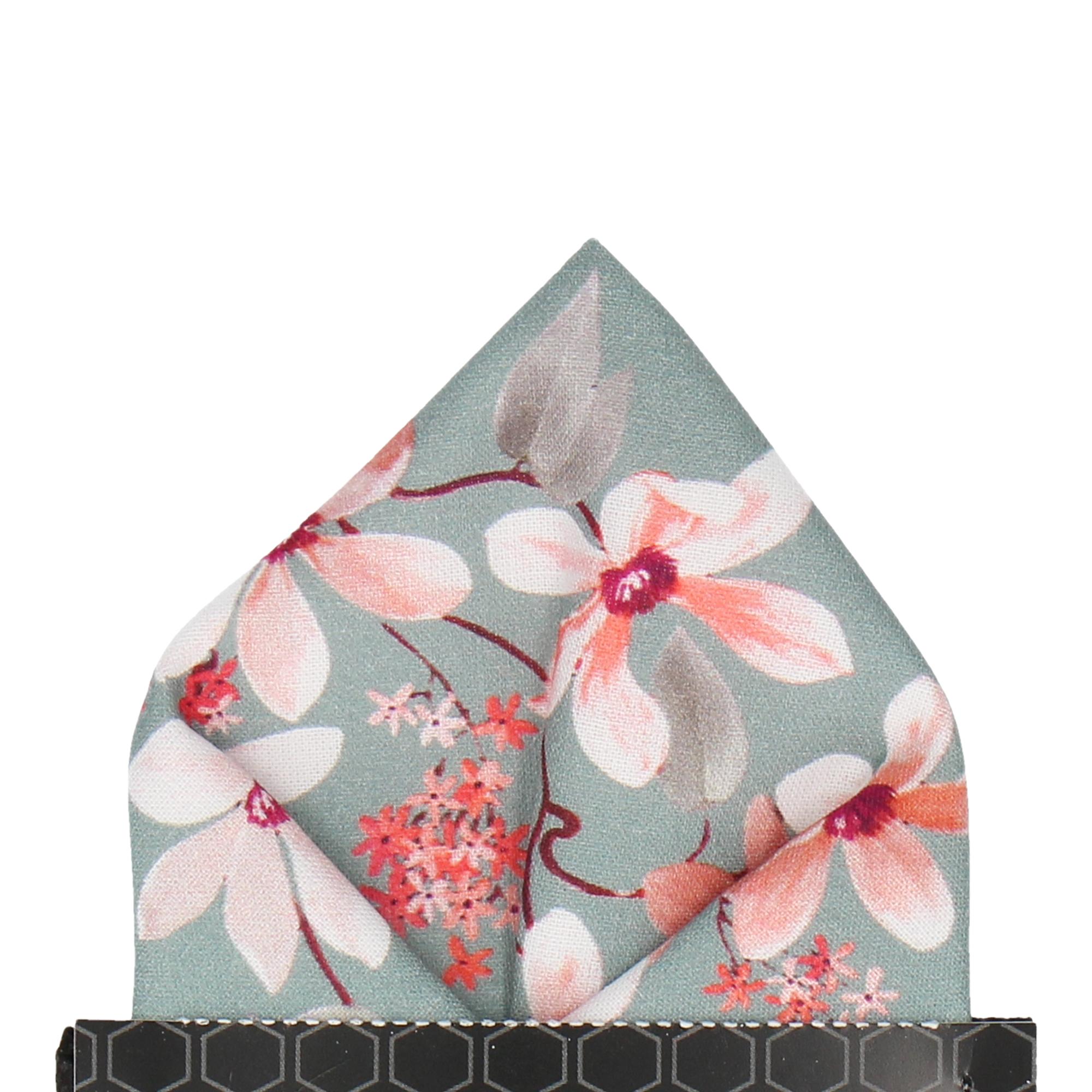 Big Cherry Blossom Pocket Square