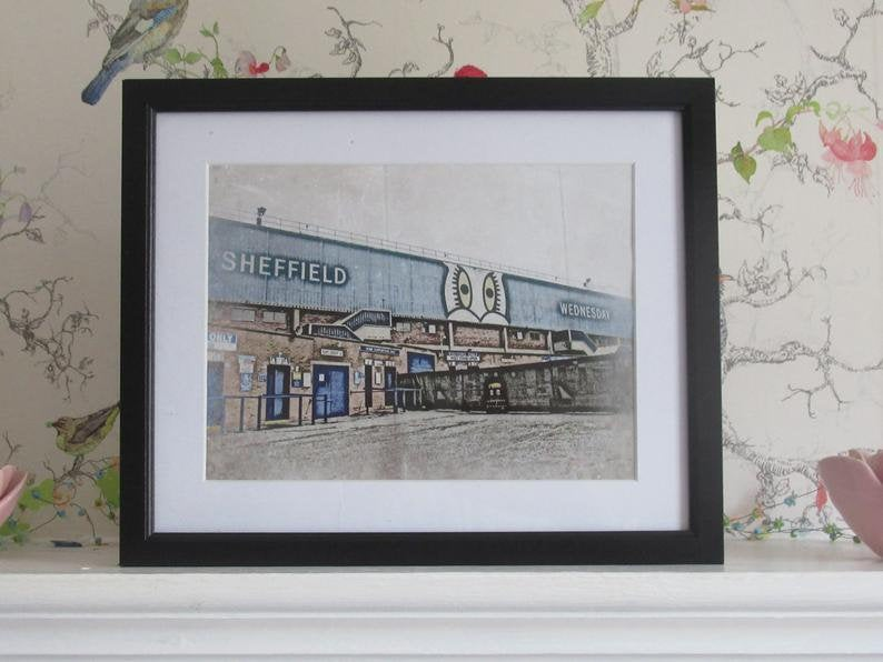 Special Offer Set of TWO Sheffield Wednesday Prints Etsy