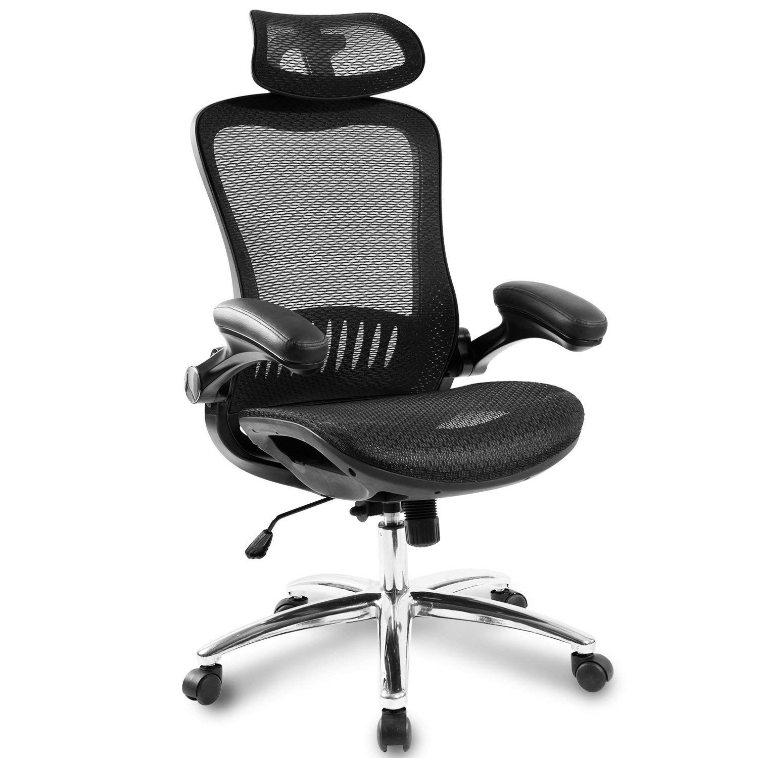 Office Chair Office Mid Back Swivel Lumbar Support Desk