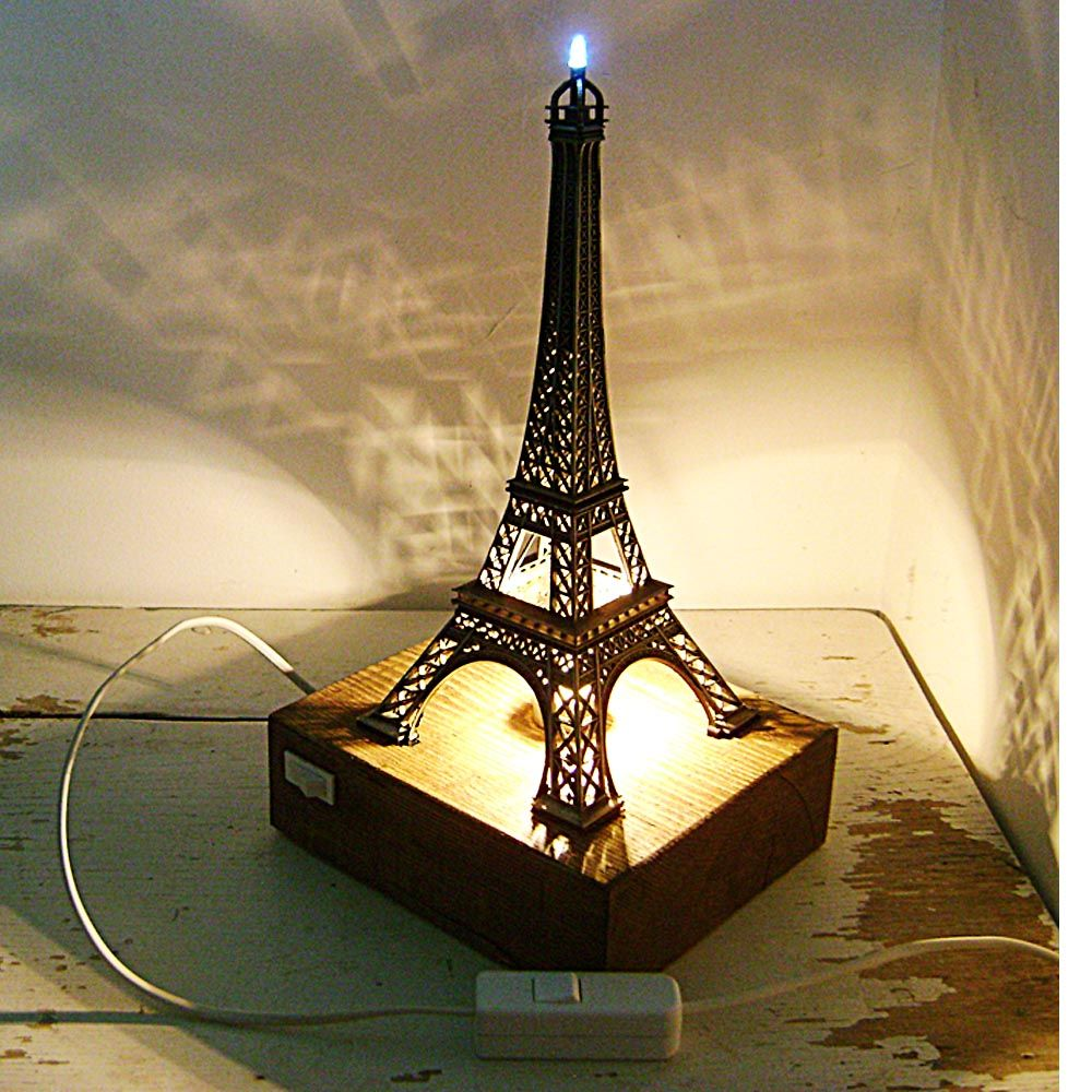 Eiffel Tower Desk Lamp - look at those shadows it sends out! | Oui ...