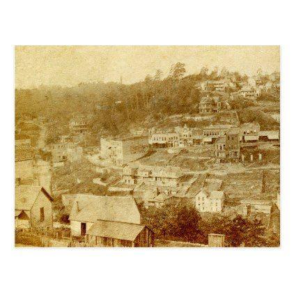 Vintage photo of Eureka Springs Arkansas Postcard - spring ...