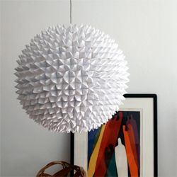 Faceted Pendant Lights U2013 The Large Sphere