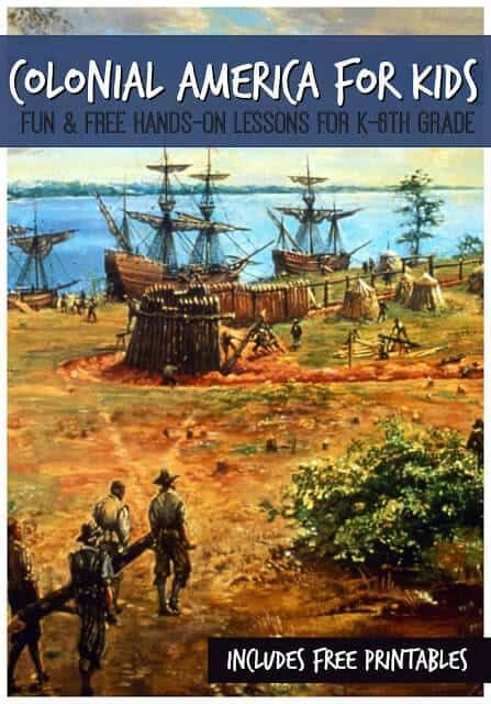 Photo of Colonial America for Kids | 123 Homeschool 4 Me