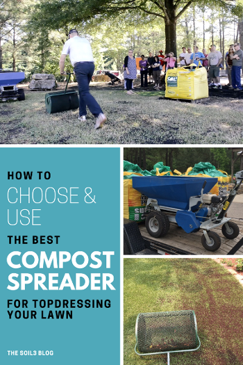 Choosing The Right Compost Spreader For Natural Fertilization Video Lawn Fertilizer Lawn Care Tips Organic Compost