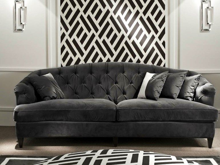 Upholstered 3 Seater Fabric Sofa Berenice Collection By Softhouse Sofa Fabric Sofa Sofas