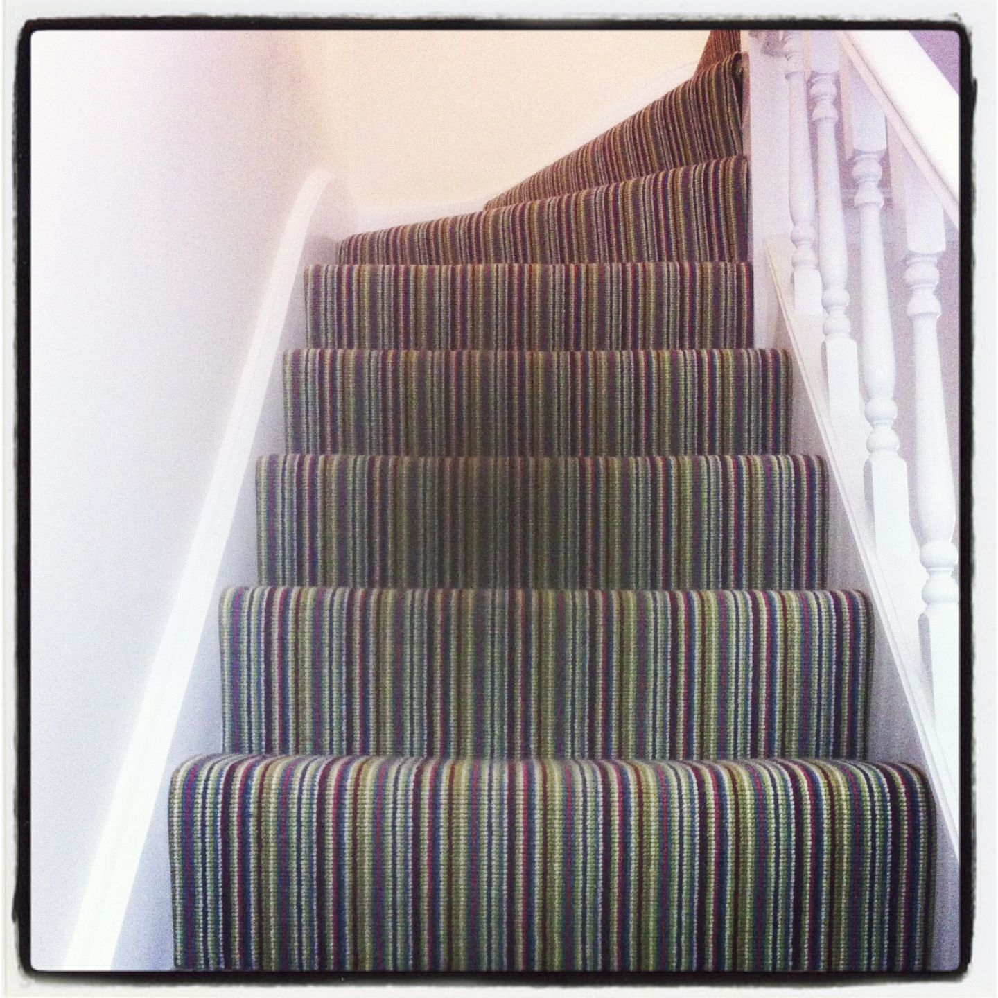 Liking This On Stairs My Friend Had It Instead Of | Best Carpet For High Traffic Areas Stairs
