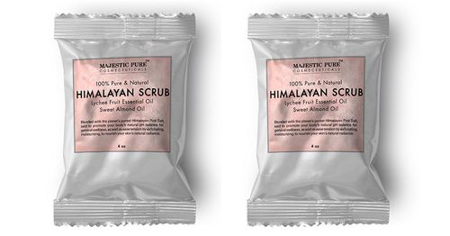 Order a free sample of Himalayan Salt Body Scrub by Majestic Pure - free mail sample