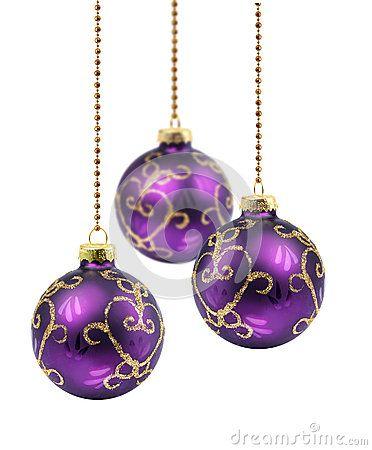 Purple Balls For Decoration Purplechristmasballs24972667  Purple Christmas  Pinterest