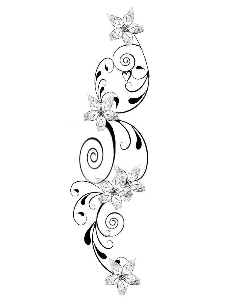 Jasmine Flower Tattoo Designs: Jasmine-flower-tattoo-flower-tattoo-design-pictures-my