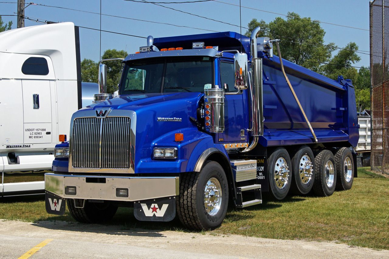 Western Star Custom 4900s Quad Axle Dump Western Star Trucks