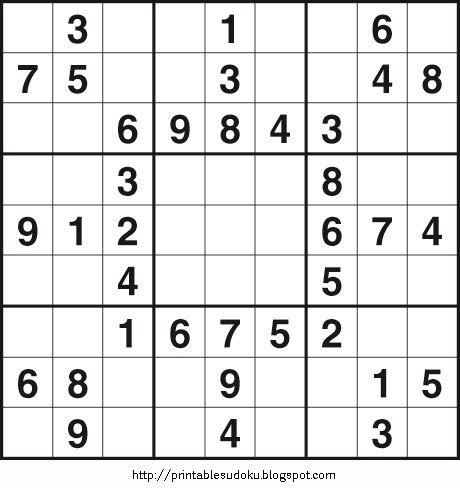 This is an image of Enterprising Printable Sudoku 2 Per Page