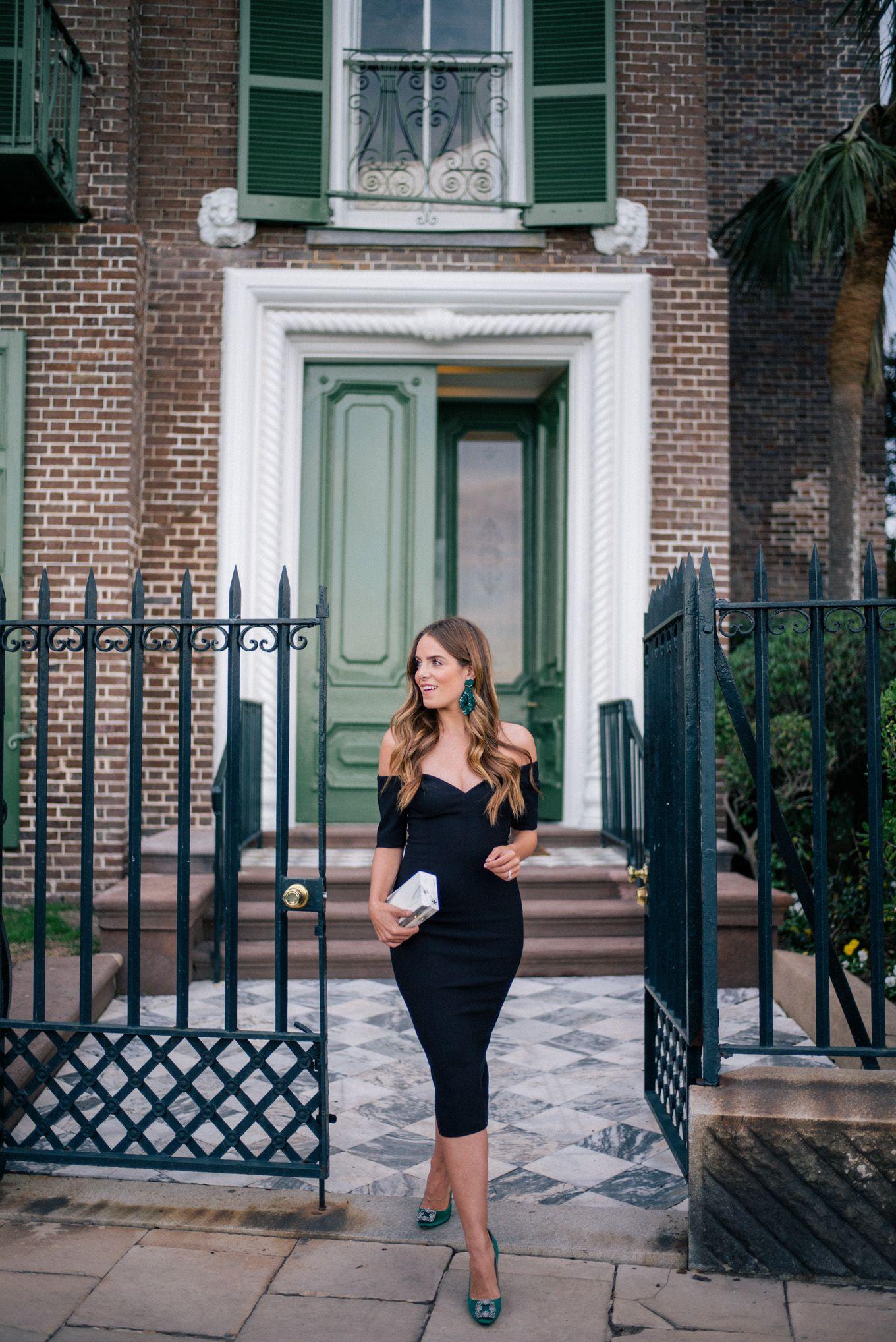 The Little Black Dress Manolo Blahnik Giveaway Julia Berolzheimer Fashion Style Little Black Dress [ 2036 x 1360 Pixel ]