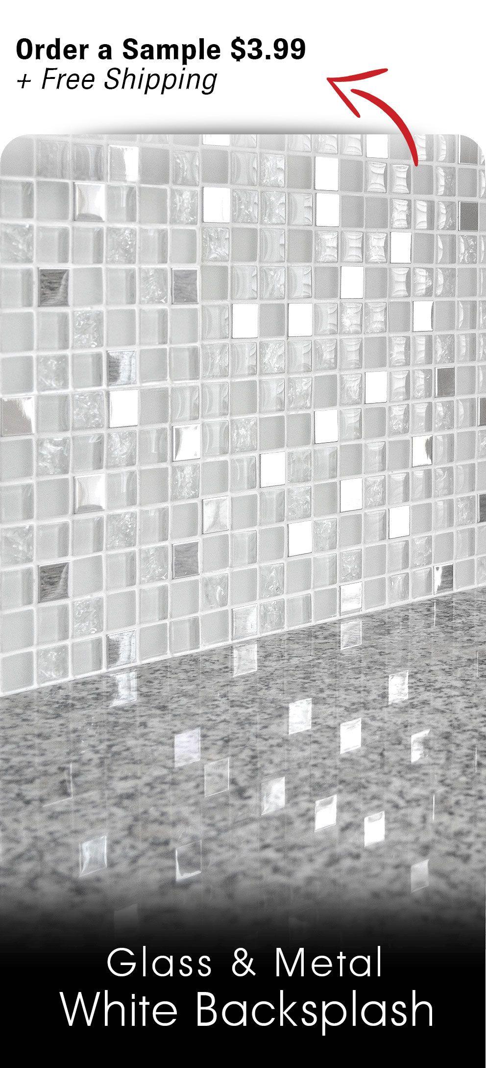 - Pin On White Kitchen Backsplash Tiles