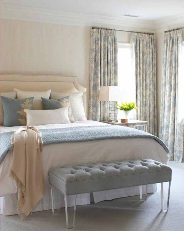 Quelle couleur pour une chambre coucher blue cream - Couleur chaude pour une chambre ...