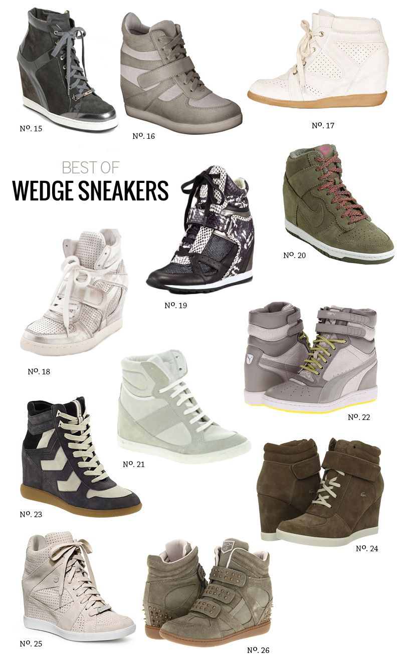 Best Of  Wedge Sneakers by Modern Eve - rocking  22 right now. love  em!