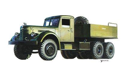 ЯА3-210Г (Балластный тягач), 1951-1958 - Рисунок А ...