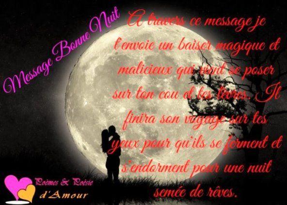 Bonne Nuit Messages Et Textes Romantiques Message Bonne