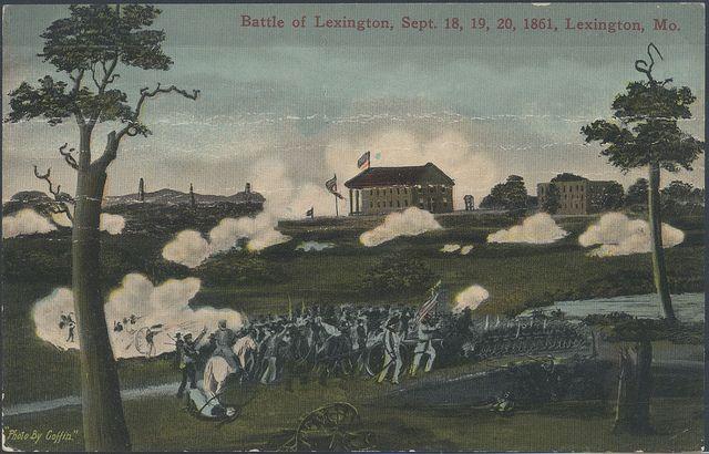 Battle of Lexington   Civil War Scenes in Missouri