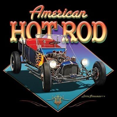 American Hot Rod Mens T-shirt XS-5XL