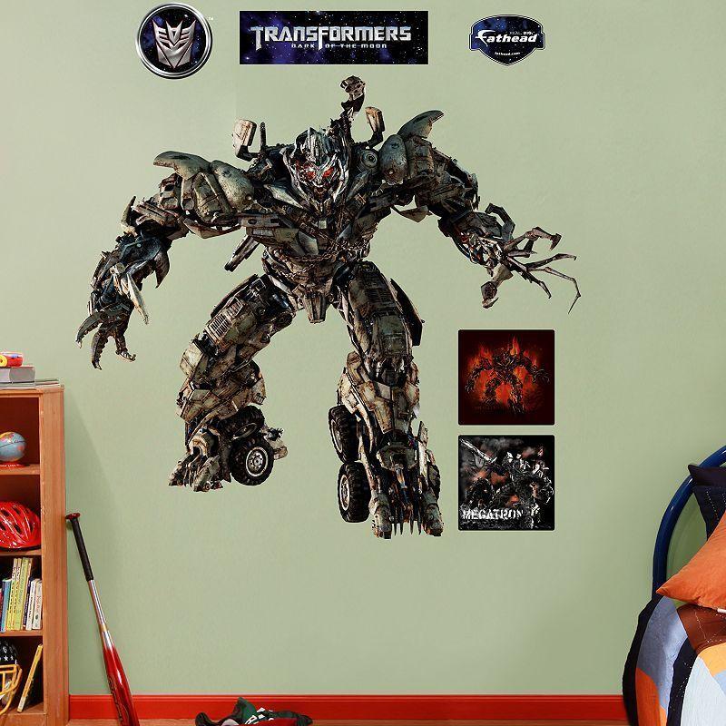 Fathead Transformers Megatron Wall Decals, Multicolor