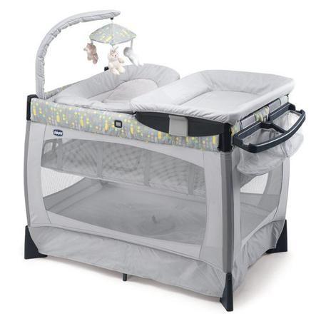 Chicco Кровать-манеж Lullaby Silver  — 24999р. ----------------- Кровать-манеж Lullaby Silver удобна,компактна и практична. Каркас изделия выполнен из легкого металла и легко собирается и раскладывается при помощи четырех кнопок. Сбоку кроватки прикреплен органайзер, в которомможно хранитьдетские крема, бутылочки или подгузники. Прямоугольная форма кроватки-манежа позволяет поставить на него пеленальную доску, входящую в комплект. Над кроваткой висят маленькие подвесные игрушки, которые…