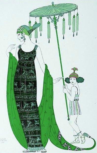 Green - George Babier & Art. Decó. - Paperblog - https://es.paperblog.com/george-babier-art-deco-476167/amp