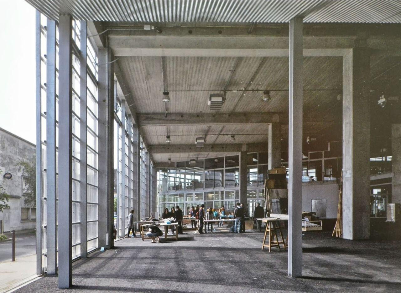 ecole d 39 architecture de nantes 2009 lacaton vassal. Black Bedroom Furniture Sets. Home Design Ideas