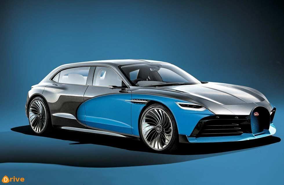 Bugatti's electric limo and notquiteSUV revealed (avec