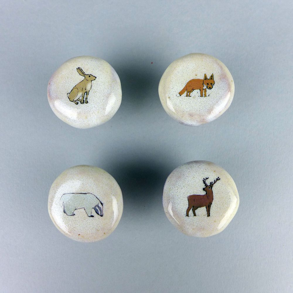 Image of Stag Hare Fox or Badger Door Knobs & Image of Stag Hare Fox or Badger Door Knobs | ALL THINGS KIDS ... Pezcame.Com