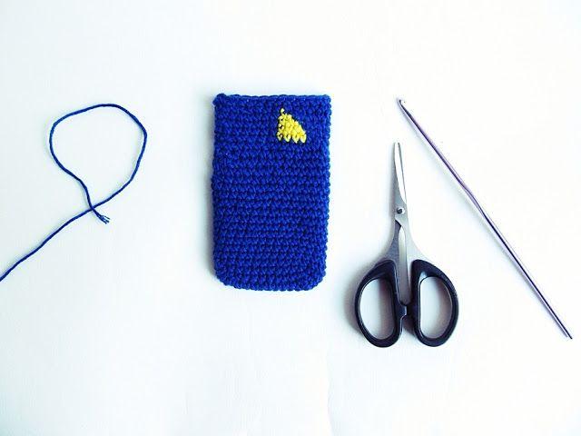 Crochet Card Holder} | Crochet ideas | Pinterest