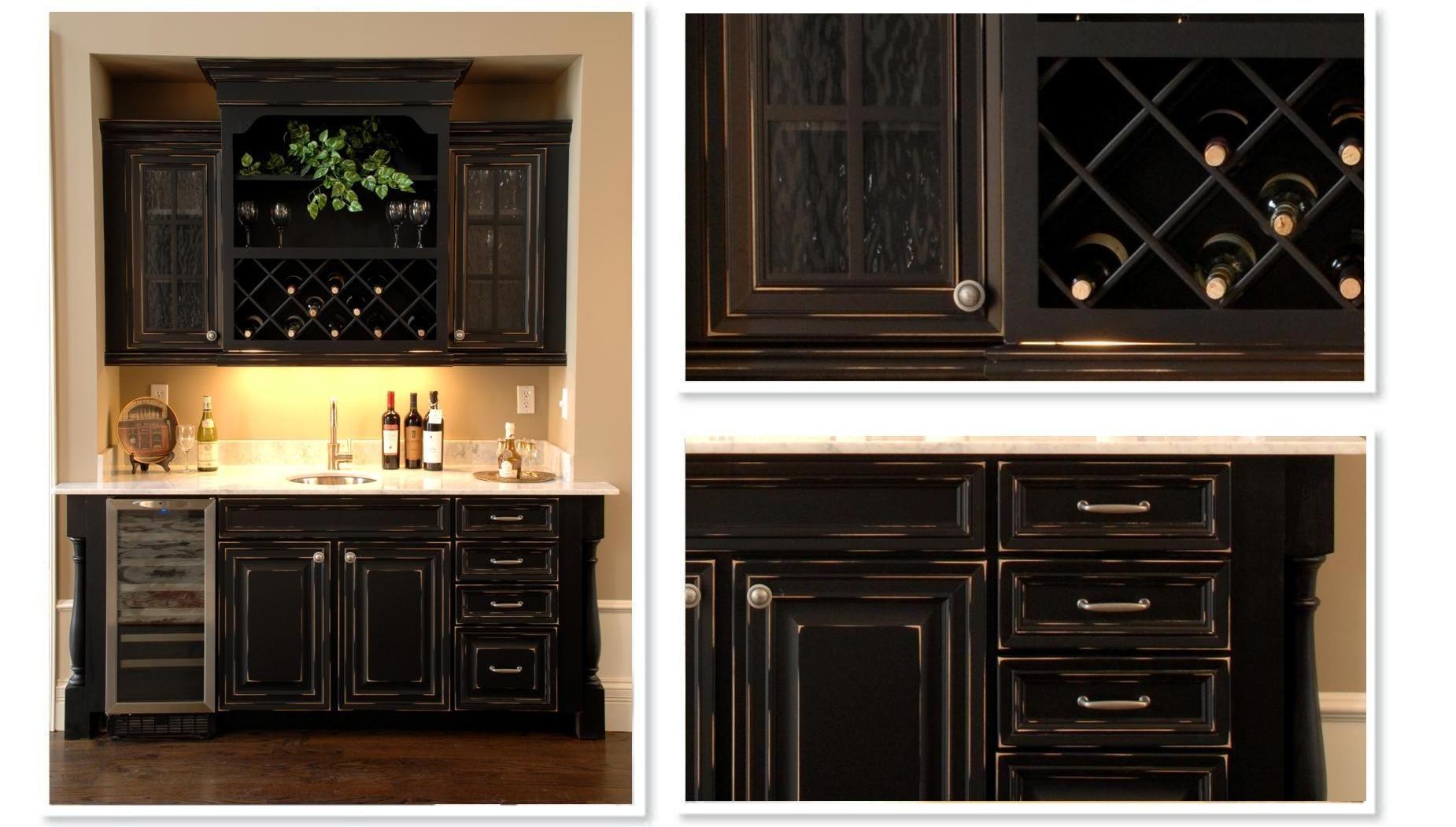 Easy Diy Corner bar Cabinet - http://www.1sthomebarideas.com/easy ...